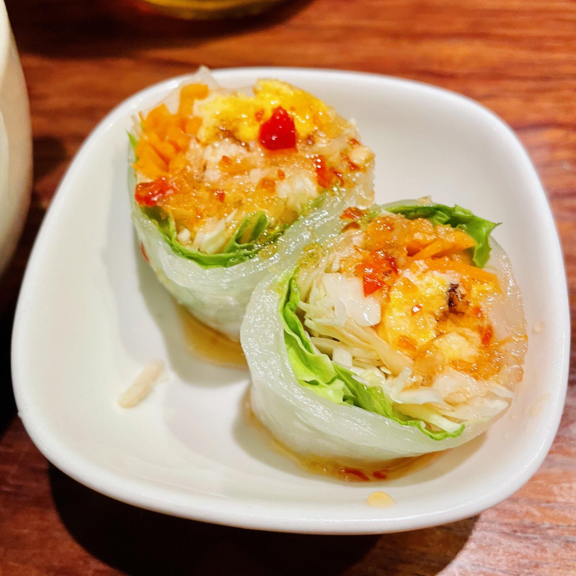 【三軒茶屋】タイ料理の激戦区でトップレベル!「タイ東北料理イサーンキッチン 」ランチの春巻き